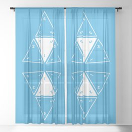 Unrolled D4 Sheer Curtain