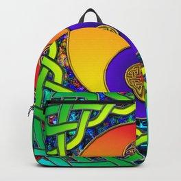 Yin Yang Celtic Mandala Backpack