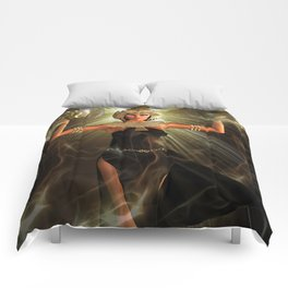 The Light Of Egypt Comforters