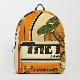 The Peach. A Ragtime Two Step Backpack