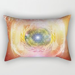 Consciousness Arising - 3/3 Rectangular Pillow