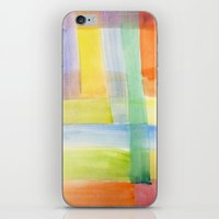 plaid iPhone & iPod Skins featuring Plaid  by Miheso Designs