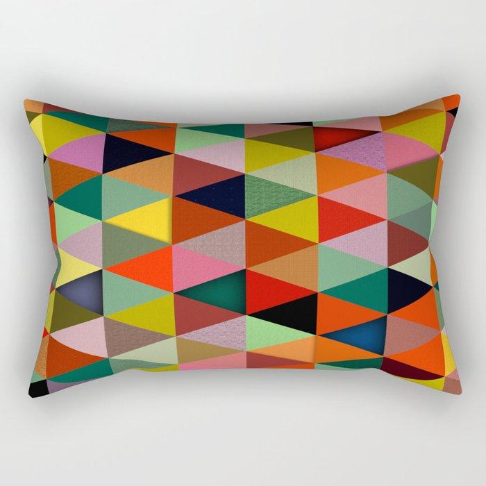 Abstract #234 Rectangular Pillow