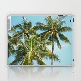 Coconut Palm Trees Sugar Beach Kihei Maui Hawaii Laptop & iPad Skin