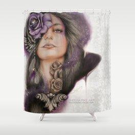 SWEET SORROW Shower Curtain