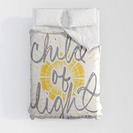 "EPHESIANS 5:8-10 ""CHILD OF LIGHT"" Comforters"