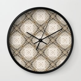 Patterned after Cube Wall Clock