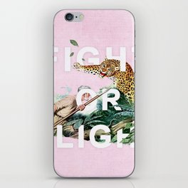 Fight or Flight iPhone Skin