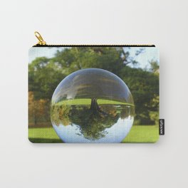 Old Park Tree, crystal ball / Glass Ball Photography Carry-All Pouch