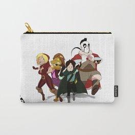 """Run Away!"" - Dungeons & Doritos Carry-All Pouch"
