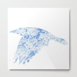 The Blue Rook Metal Print