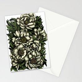Botanic white Stationery Cards