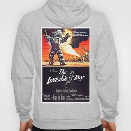 The Invisible Boy, 1957 (Vintage Movie Poster) Hoody