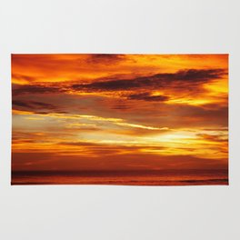 Another Beautiful Costa Rica Sunset Rug