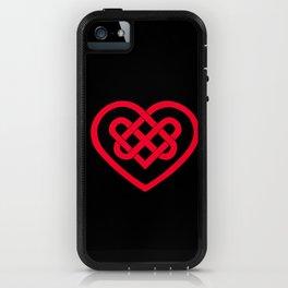 Celtic Heart (Dark) iPhone Case