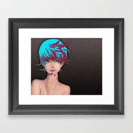 Star Nail Framed Art Print