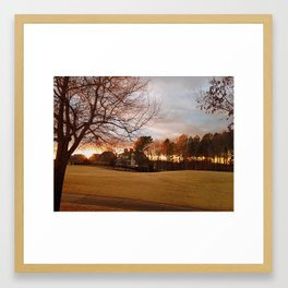 Georgia Sky Framed Art Print