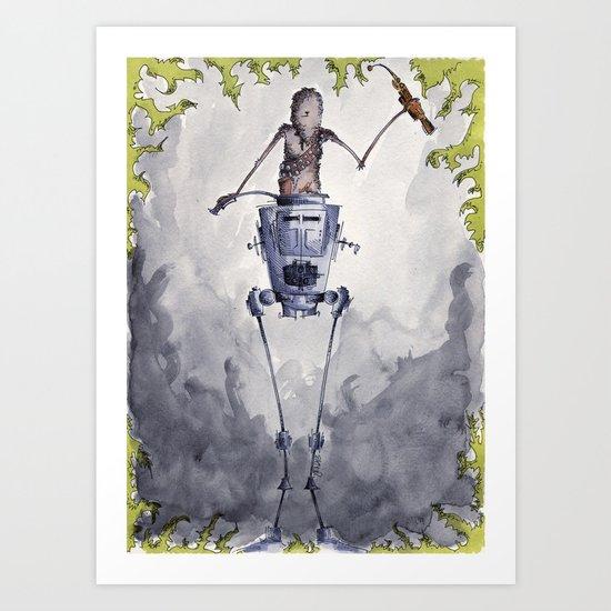 Victory! Art Print