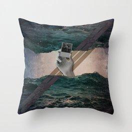 U/3 (Swastikunt) Throw Pillow