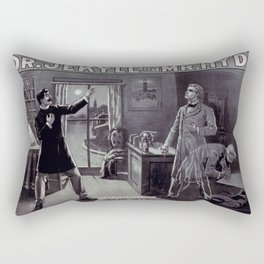 Dr. Jekyll and Mr. Hyde Rectangular Pillow