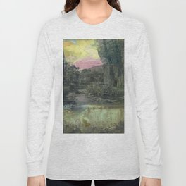 Pond Color Study no.2 Long Sleeve T-shirt