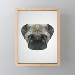 Mops Dog Framed Mini Art Print
