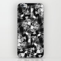 smplmag marble pattern iPhone Skin