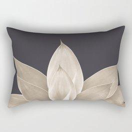 Sepia Agave #1 #tropical #decor #art #society6 Rectangular Pillow