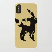 umbreon iPhone & iPod Cases featuring Umbreon by Polvo