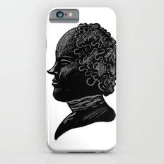 Silhouette of a Gentleman iPhone 6s Slim Case