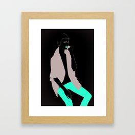 I am not Framed Art Print