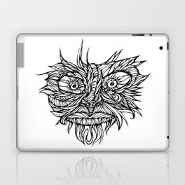 Face Flow Line Laptop & iPad Skin