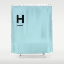 Hydrogen Shower Curtain