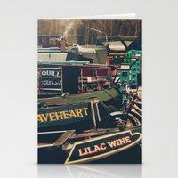 marina Stationery Cards featuring Marina by Mark Bagshaw Photography