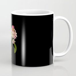 Rhododendron Maximum Mary Delany Vintage Botanical Paper Flower Collage Coffee Mug