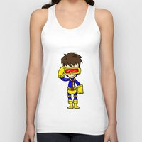cyclops Tank Tops featuring CYCLOPS by Space Bat designs