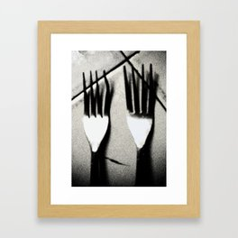 Eat More! Framed Art Print