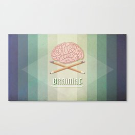 Brainiac Canvas Print