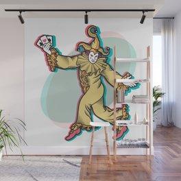 Joker is Wild Wall Mural