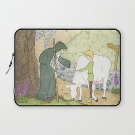 The Mysterious Man's Mysterious Beans Laptop Sleeve