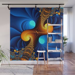 Wormhole Wall Mural