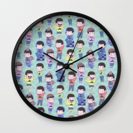 The Sextuplets Wall Clock