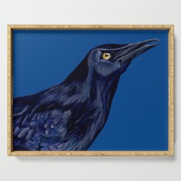Male Grackle Serving Tray