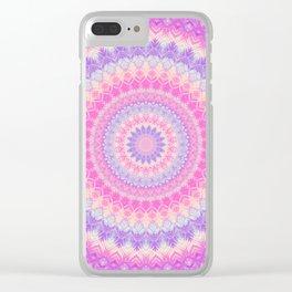 Mandala 278 Clear iPhone Case