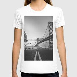 Black and White City Bridge T-shirt