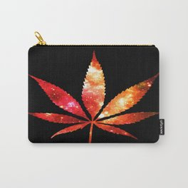 Weed : High Times orange red pink  Galaxy Carry-All Pouch