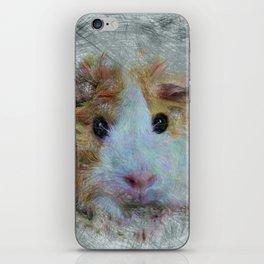 Artistic Animal Guinea Pig 3 iPhone Skin