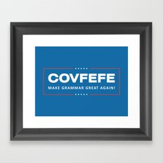 Covfefe Framed Art Print