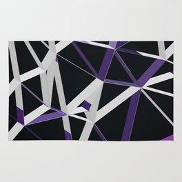 3D Futuristic GEO Lines XIII Rug