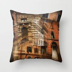 Rome Architecture Throw Pillow